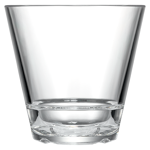 Caliber 12oz Double Rocks Glass Clear