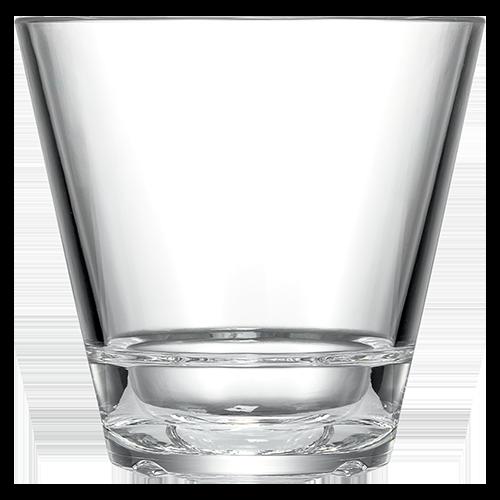 Caliber 12oz Double Rocks Glass Clear