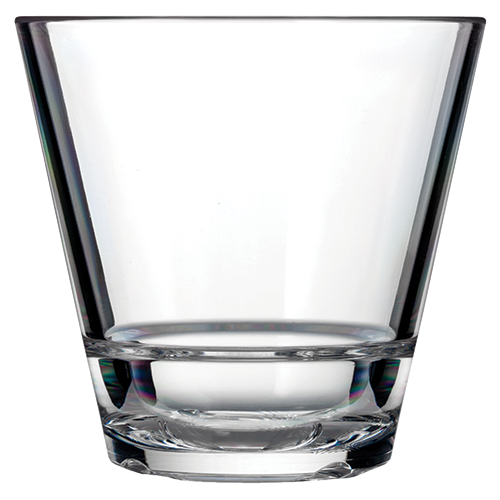 Caliber 9.5oz Rocks Glass Clear