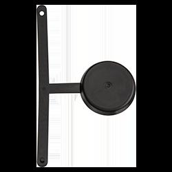 Black Clip-On Carafe Lid Cap
