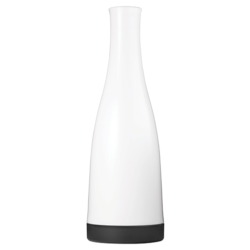 White 32oz Carafe with Black Removable Base