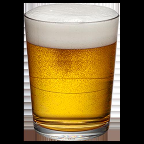 Cartel 16oz Pint with Beer