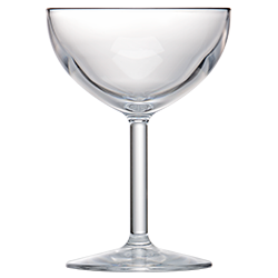 Coupe Glass 8oz Clear