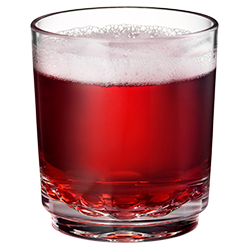 Elite 7oz Shooter with Cranberry Juice