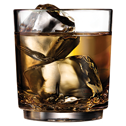 Elite 7oz Shooter with Scotch on Rocks