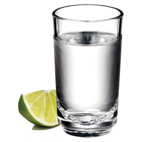 elite 2oz shot glass with tequila - Shot Glass Volume