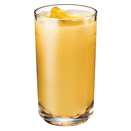Elite 14oz Tall Glass with Orange Juice