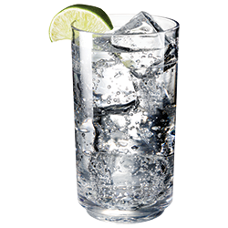 Elite 14oz Tall Highball with Soda Water