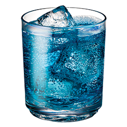 Elite Tumbler 12oz with Blue Sports Drink