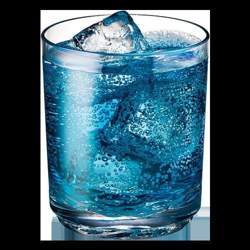 Elite 12oz Tumbler with Blue Sports Drink