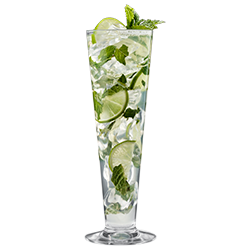 Pilsner Glass 14oz with Mojito