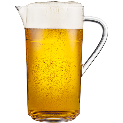 Stackable Pitcher 64 oz with Beer