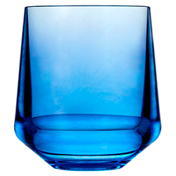 Stemless Wine 12oz Blue