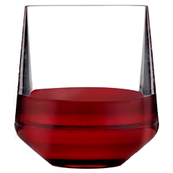Stemless Wine 12oz with Red Wine