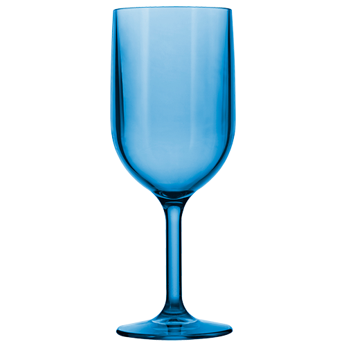 Wine Glass 12oz Blue