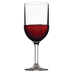 Wine Glass 12oz with Red Wine
