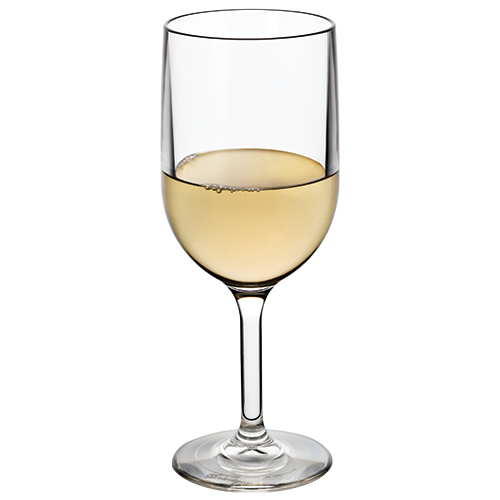 Wine Glass 12oz with White Wine